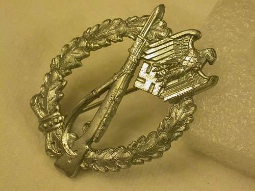 """Infanterie Sturmabzeichen """"Broken Stem"""""""
