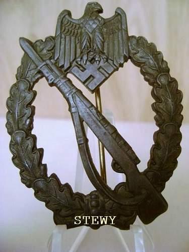 """Bronze """"broken stem"""" ISA"""