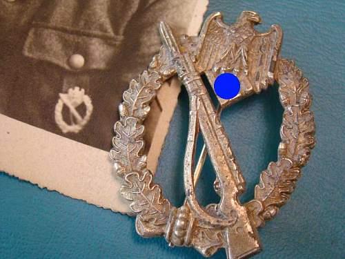 Infanteriesturmabzeichen original or fake?