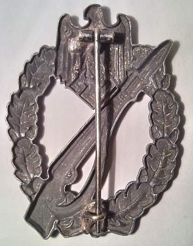Hollow Infanterie Sturmabzeichen