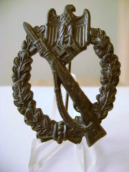Infanterie sturmabzeichen Rudolf Souval