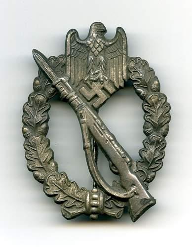 Infanterie sturmabzeichen original ?