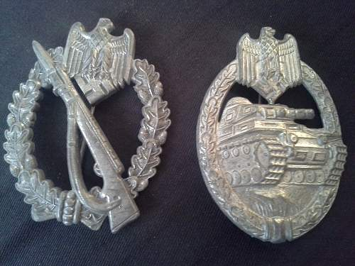 new Infanterie Sturmabzeichen badge for the collection