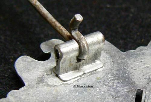 Infanterie Sturmabzeichen in Silber,  ShuCo 41, Sohni, Heubach & Co