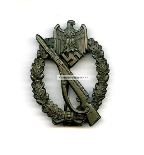 Infanterie Sturmabzeichens, ground dug
