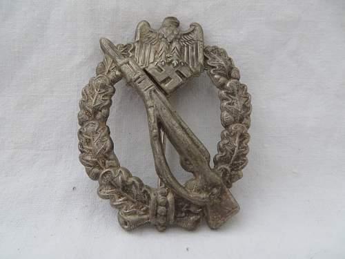 Infanterie Sturmabzeichen, number 3