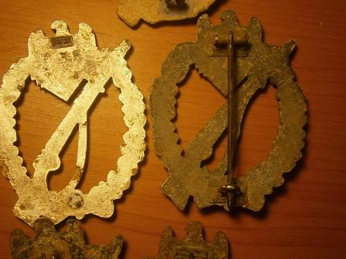 Infanterie Sturmabzeichen in Silber, No Markings?