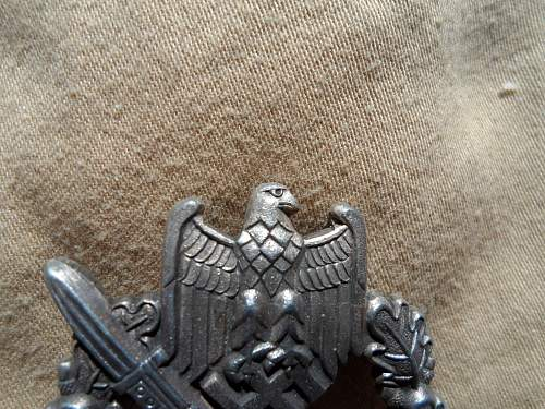 Infanterie Sturmabzeichen for opinions