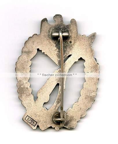 Infanterie Sturmabzeichen Silver L/51