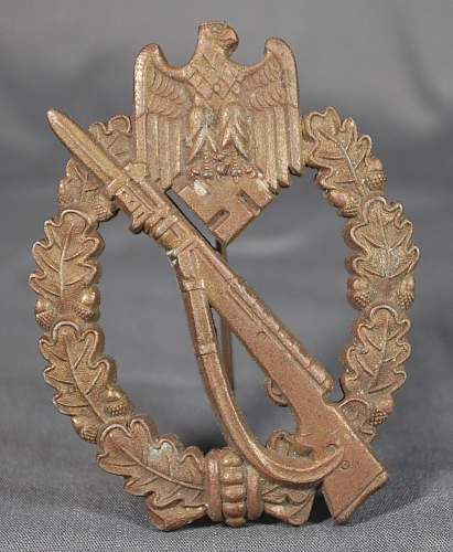 Infanterie Sturmabzeichen MK1 Bronze