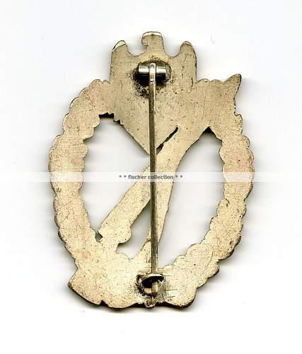 First Badge Infanterie Sturmabzeichen