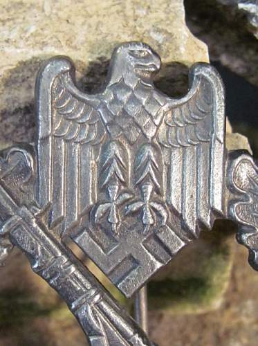 Infanterie sturmabzeichen badge for review & authentication