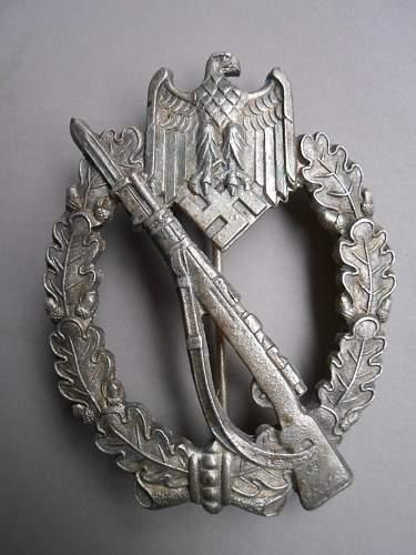 Infanterie Sturmabzeichen original???