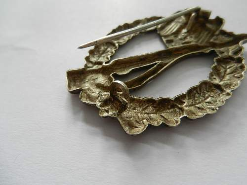 Infanterie Sturmabzeichen in silver for review please