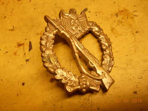 Infanterie Sturmabzeichen real ww2?
