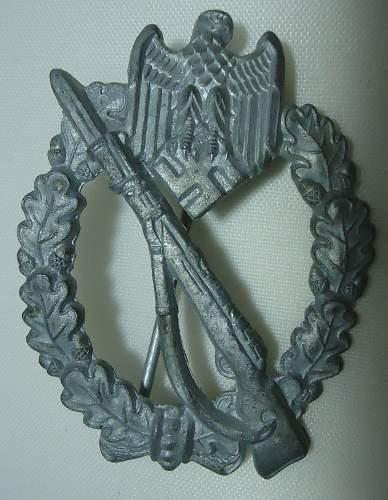 Infanterie Sturmabzeichen in Silber, Assmann 4