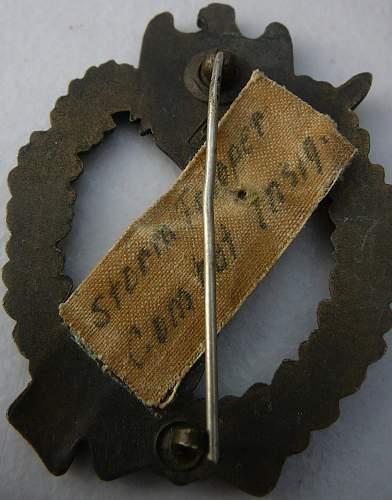 Infanterie Strumabzeichen