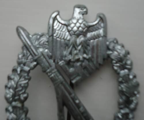 Infanterie Sturmabzeichen S&L
