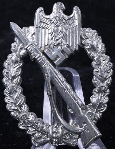 """Infanterie Sturmabzeichen Silber - """"L/14"""" (Friedrich Orth)"""