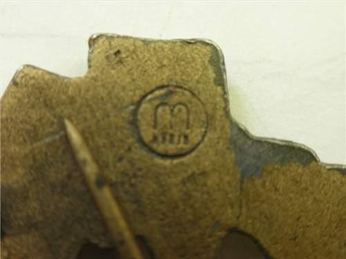 Infanterie Sturmabzeichen in Bronze, Opinion