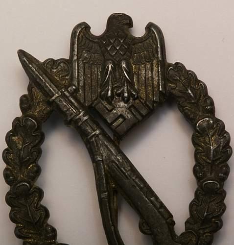Infanterie Sturmabzeichen GWL, appreciate opinions