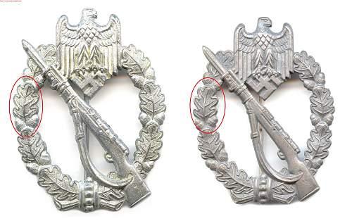 infanteriesturmabzeichen original???