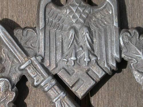 """Infantrie Sturmabzeichen """"Hermann Aurich, Dresden"""""""