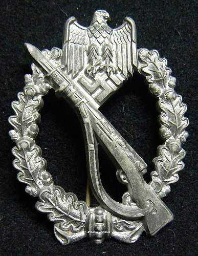 Infanterie Sturmabzeichen in Silber, Freidrich Linden, Ludenschied, FLL