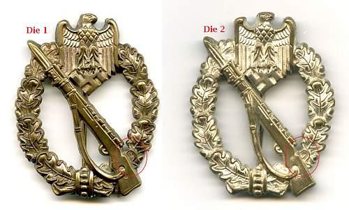 Infanterie Sturmabzeichen in Silber, Tombak, Wilhelm Deumer