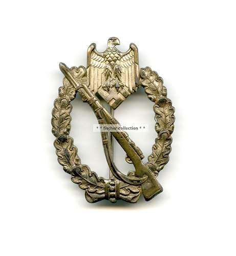Infanterie sturmabzeichen Slim stalk ? - ask for help