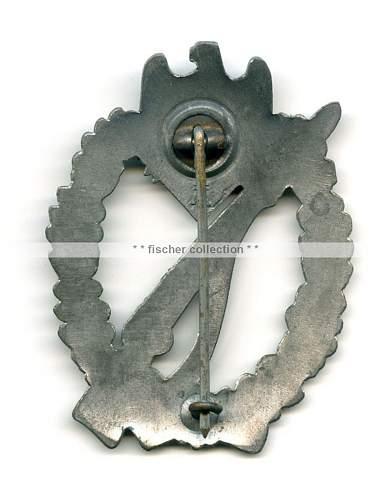 Infanterie-Sturmabzeichen Assmann - Original?