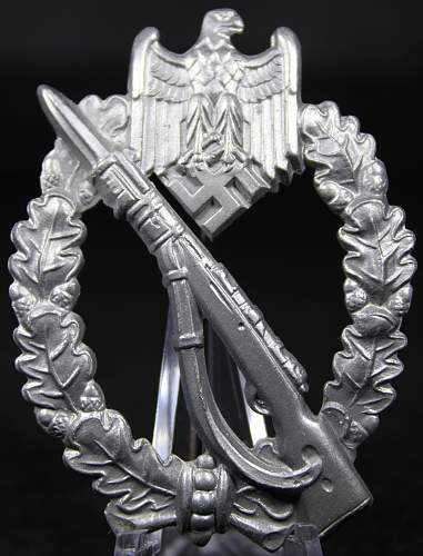 Infanterie Sturmabzeichen in Silber opinions