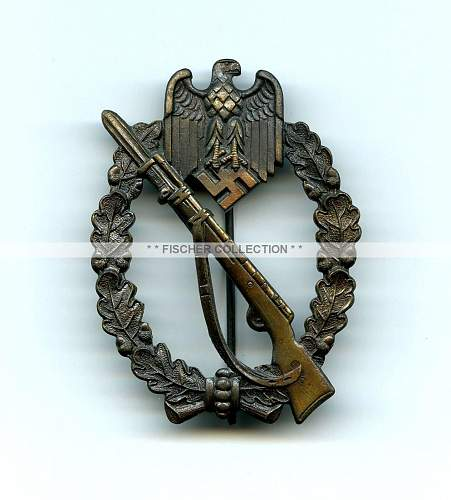 Infanterie Sturmabzeichen in Silber, Paul Meybauer, Attributed