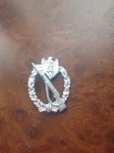 Infanterie Sturmabzeichen in Silber GWL