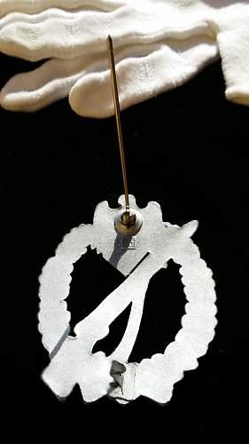 Infanterie Sturmabzeichen Silber JFS
