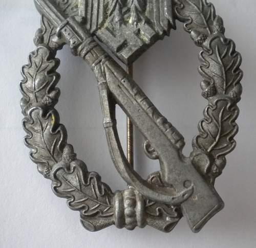 Infanterie Sturmabzeichen unmarked