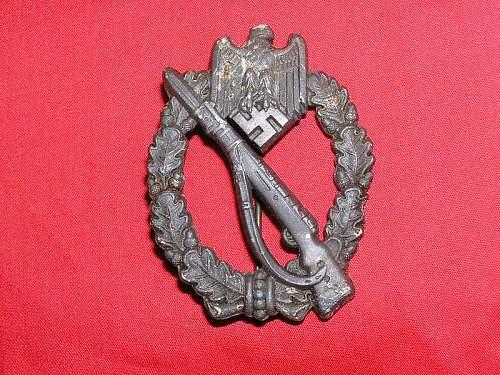 Opinions on Infanteriesturmabzeichen?