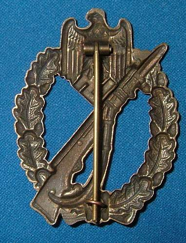 Infanterie Sturmabzeichen in Silver Fake Gallery