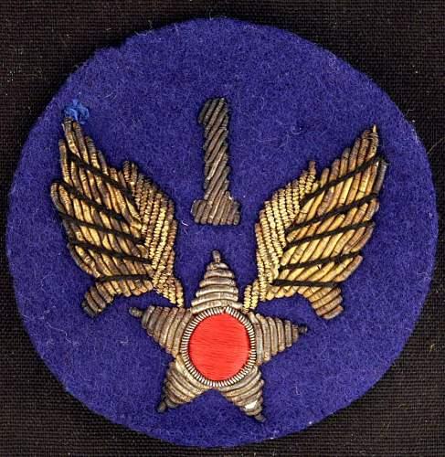 1st Air Force-Bullion SSI