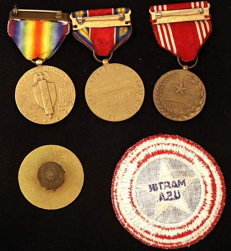 Weekend Find\ Medals & Patch