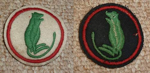 7th Armoured Brigade insignia(jungle rat)