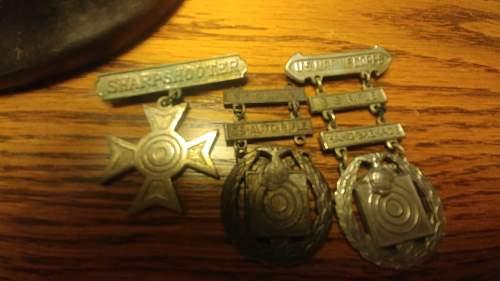 USMC Shooting awards