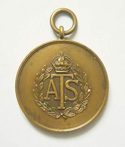 ATS Sports medal