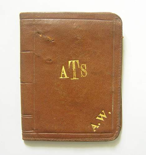 ATS private purchase leather wallet