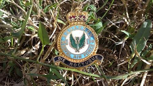 39th Squadron RAF badge