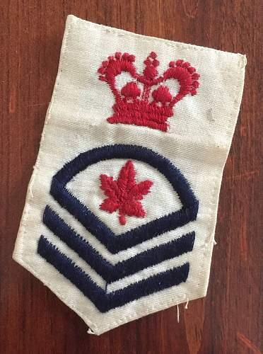 Canadian Navy rank insignia?