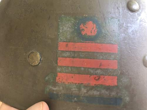 US M1 Liner crests? Assistance on this one please?
