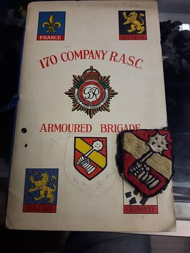34th Armoured Brigade Patch