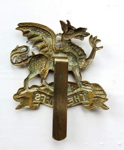 Cap Badge of the East Kent Regiment 'The Buffs'
