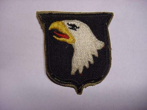Screaming eagle 101th Division ww2 ?